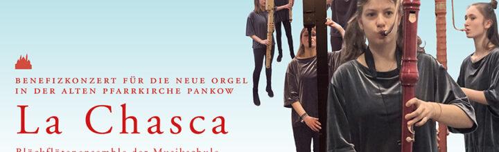 Kleines Benefizkonzert für die neue Orgel: La Chasca