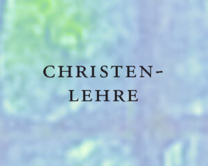 Christenlehre